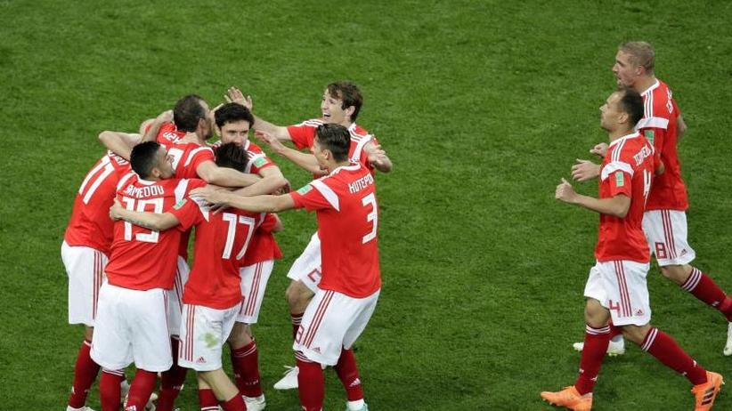 Zweiter Sieg: Russische Torgala trotz Salah-Comeback: 3:1 über Äygpten