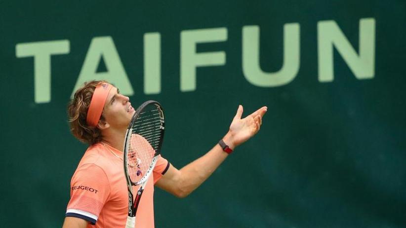 Turnier in Halle: Tennis-Star Alexander Zverev verliert Rasen-Auftakt