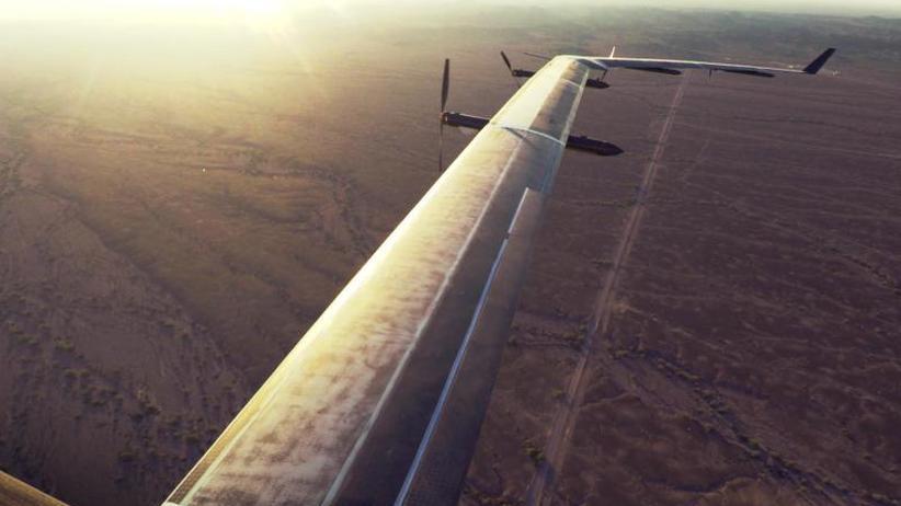 Blogeintrag: Auch Facebook gibt Projekt für Internet-Drohne auf
