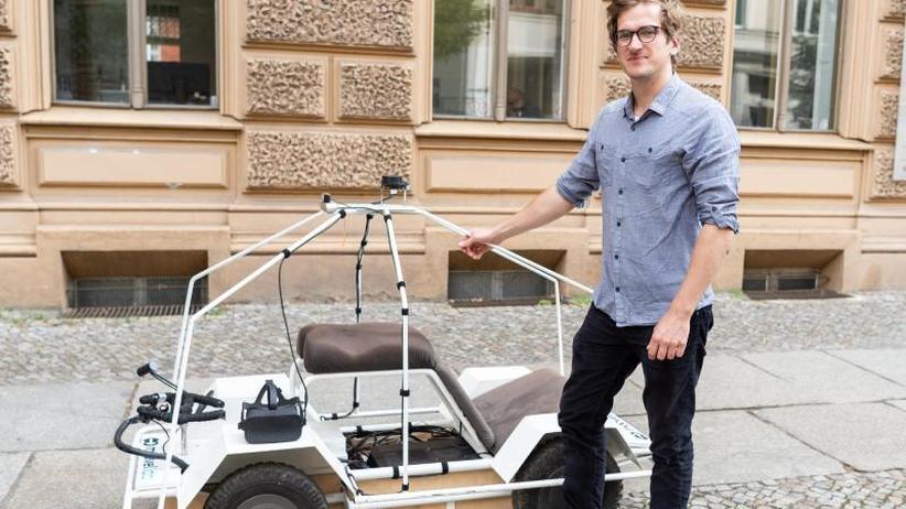 Messe TedEx in Berlin: Die Welt wie ein autonomes Fahrzeug sehen mit Moovel Lab