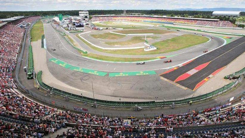 Comeback 2020 möglich: Kein Heimspiel für Vettel 2019: Formel 1 umfährt Hockenheim