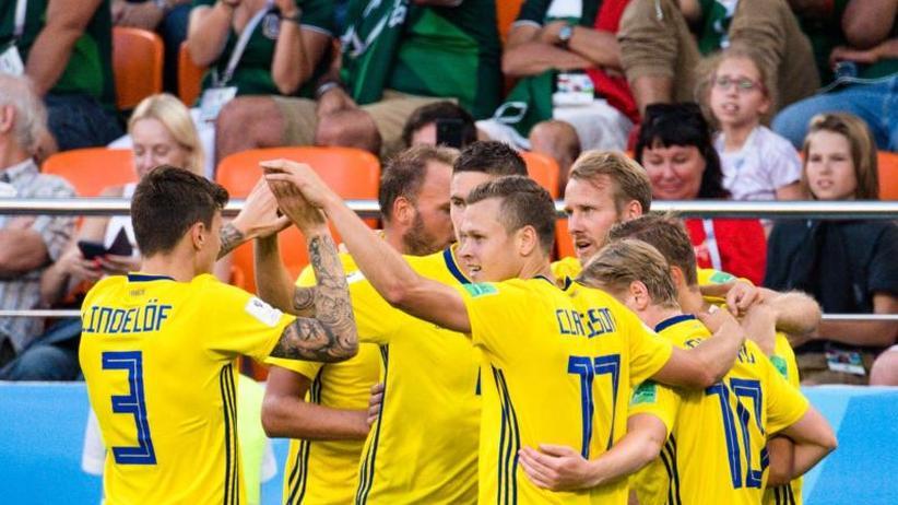 3:0 für Skandinavier: Schweden mit Moral ins Achtelfinale - Auch Mexiko jubelt