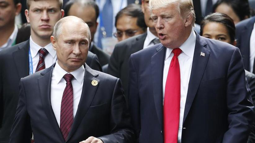 US-Präsident trifft Kremlchef: Trump und Putin verabreden Gipfel über Syrien und Abrüstung