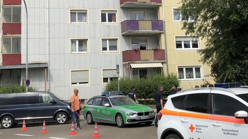 Tragödie in Gunzenhausen: Vier Tote in Franken: Haftbefehl gegen Vater erlassen