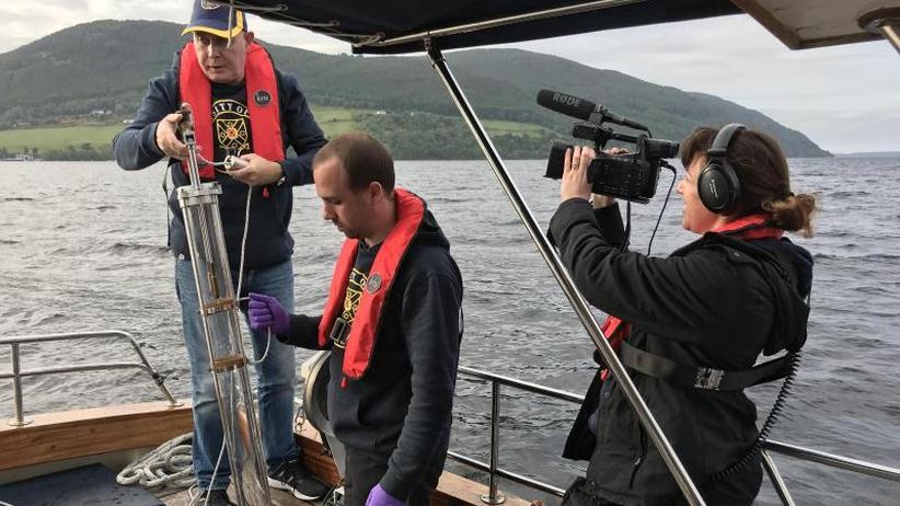 """""""Da ist die Bestie!"""": Seeungeheuer Nessie lässt Forschern keine Ruhe"""
