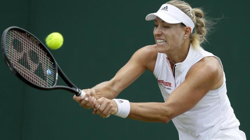 Rasen-Tennisturnier: Kerber müht sich zu Zweitrunden-Sieg in Wimbledon
