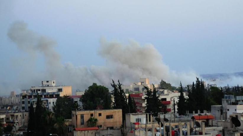 """""""Höllische Lage"""": Massive Angriffe im Süden Syriens"""
