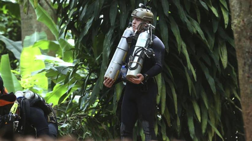 Notfälle: Thailand: Regen bedroht Rettung der Jungen aus der Höhle