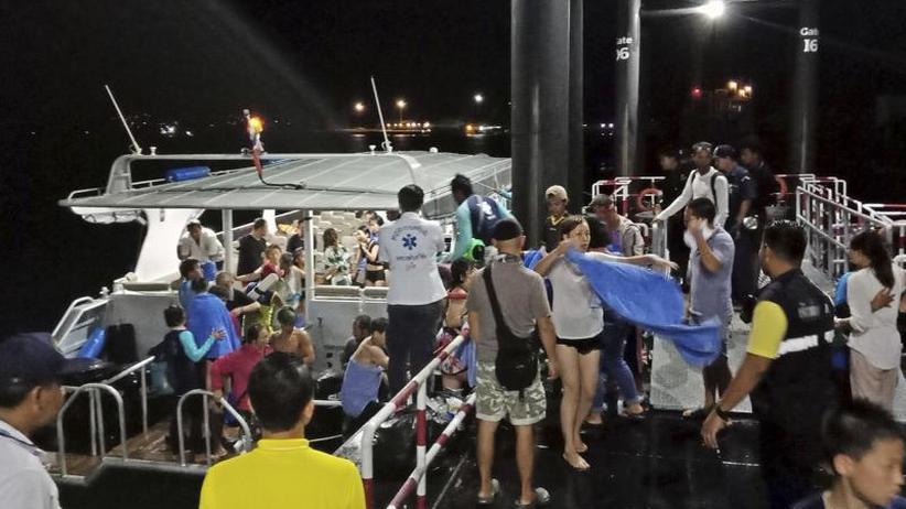 Noch 40 Menschen vermisst: 18 Tote nach Bootsunglücken in Thailand