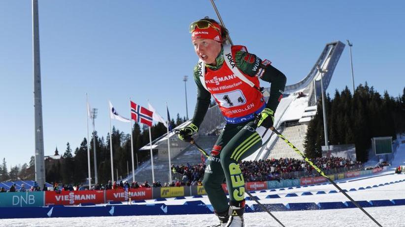 Neue Motivation: Biathlon-Olympiasiegerin Dahlmeier setzt Karriere fort