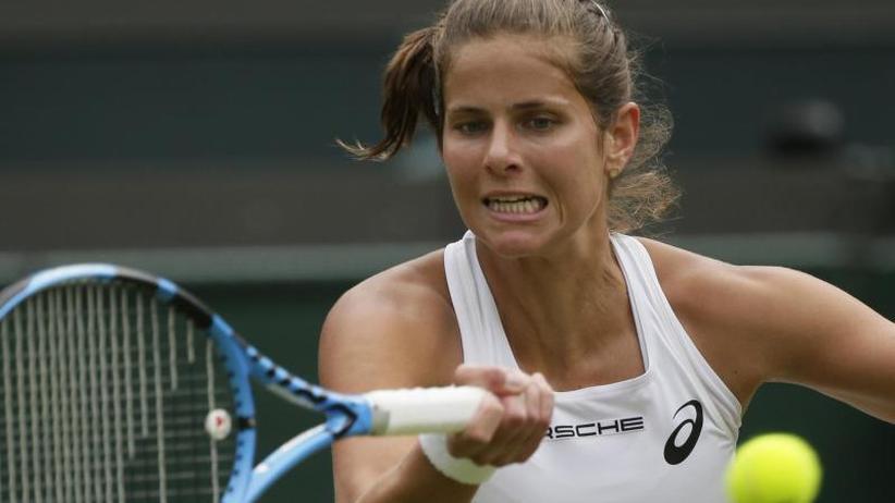 Rasen-Grand-Slam-Turnier: Einmaliger Wimbledon-Erfolg:Görges und Kerber imHalbfinale