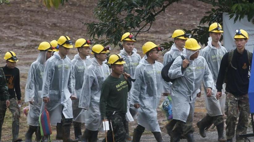 Höhle in Thailand: Rettungsaktion: Alle Eingeschlossenen sollen heute raus
