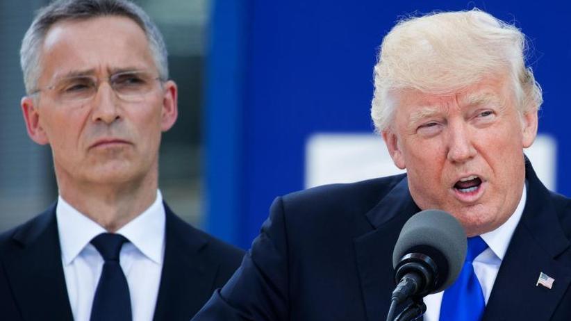 Das zitternde Bündnis: Trump legt vor Nato-Gipfel im Streit um Militärausgaben nach