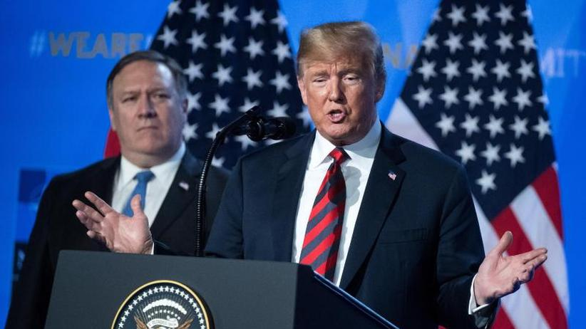 US-Präsident droht Partnern: Brüsseler Parallelwelt: Trump schockiert die Nato