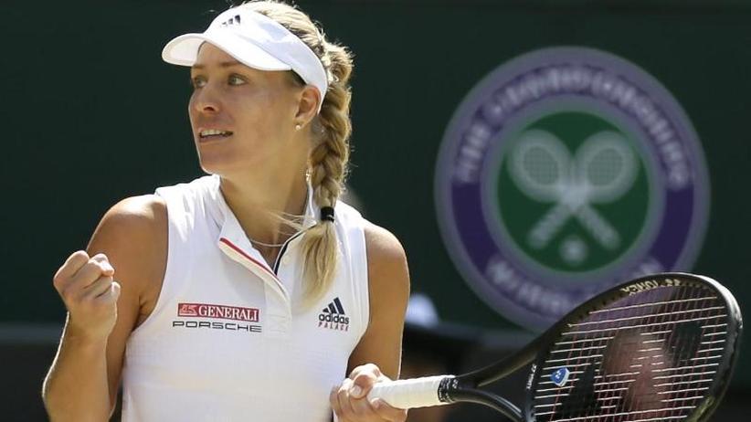 Ein Sieg fehlt: Kerber vorWimbledon-Wunder gegen Serena Williams