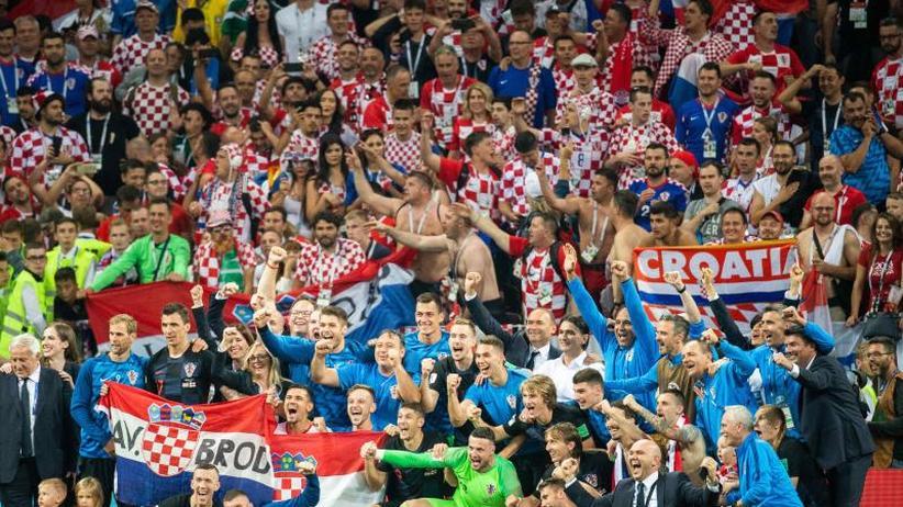 """WM-Finale: Kroatiens """"Krieger"""" fordern Frankreich"""