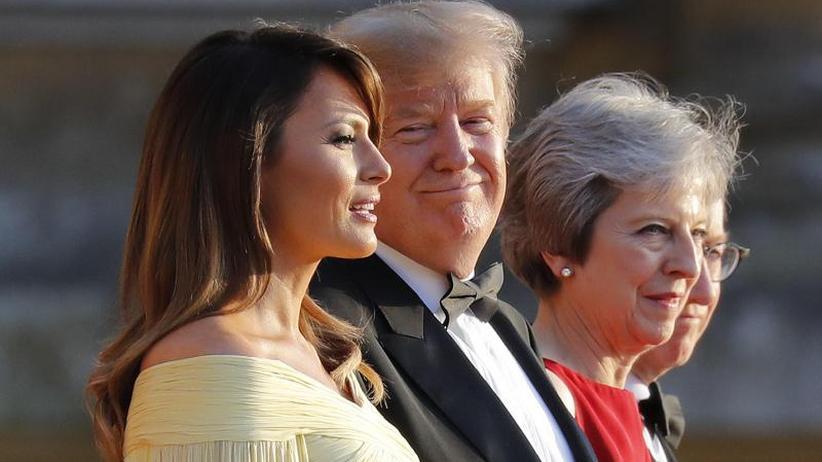 Beispielloses Interview: Trump fällt May in den Rücken