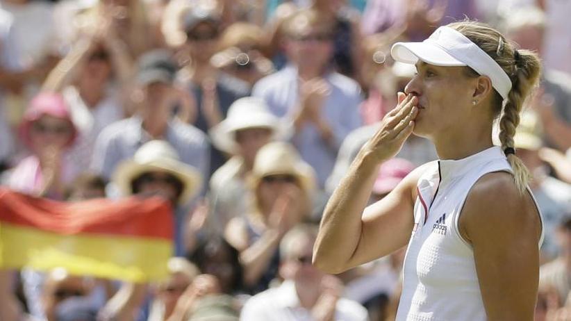 Chronologie: Angelique Kerbers Auftritte in Wimbledon