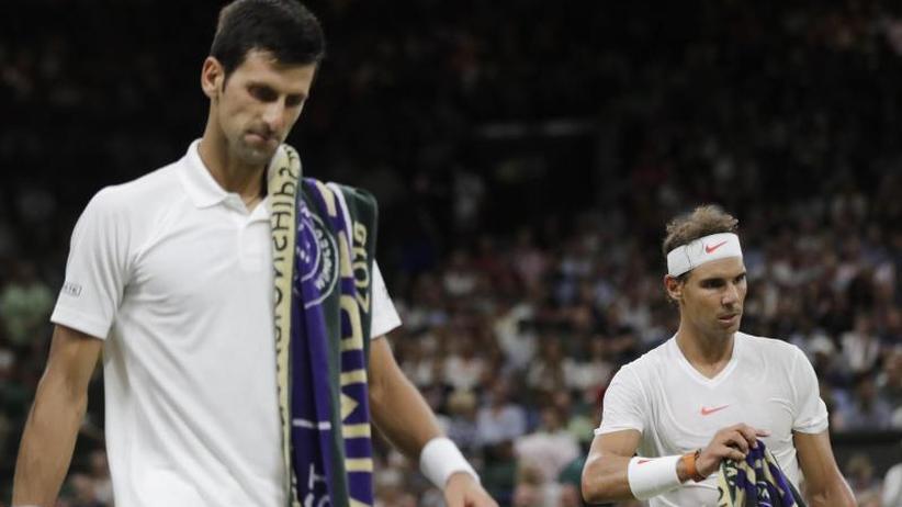 Wimbledon: Halbfinal-Match Nadal gegen Djokovic wird heute beendet