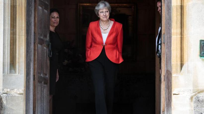 Britische Premierministerin: May: Trump riet mir beim Brexit zur Klage gegen die EU