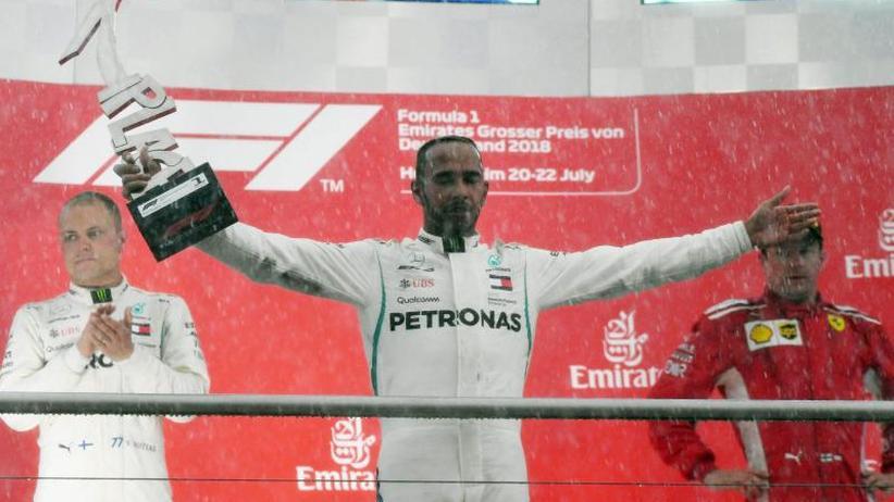 """Auf dem Hockenheimring: """"Ärgere mich sehr"""": Bitteres Vettel-Aus - Sieg für Hamilton"""