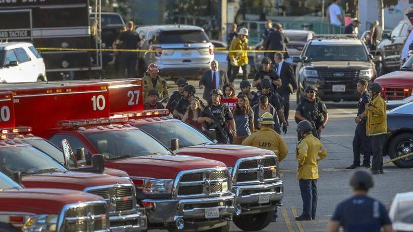 Drama in Los Angeles: Geiselnehmer erschießt Frau in US-Supermarkt