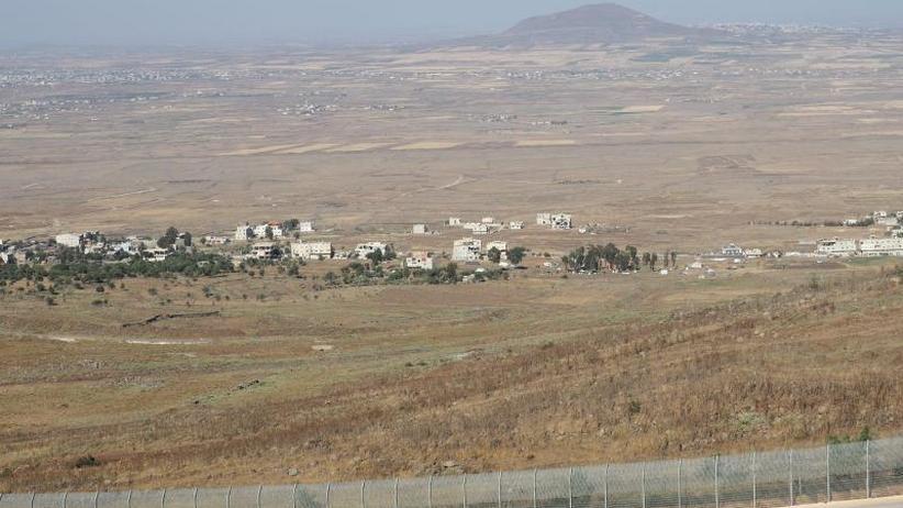 Eskalation über dem Golan: Israel schießt syrischen Kampfjet ab