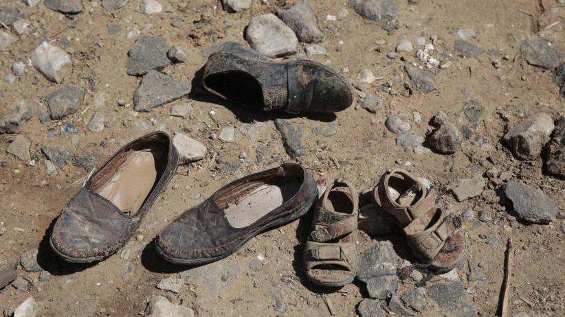 Krieg im Jemen: Luftangriff auf Schulbus tötet dutzende Kinder