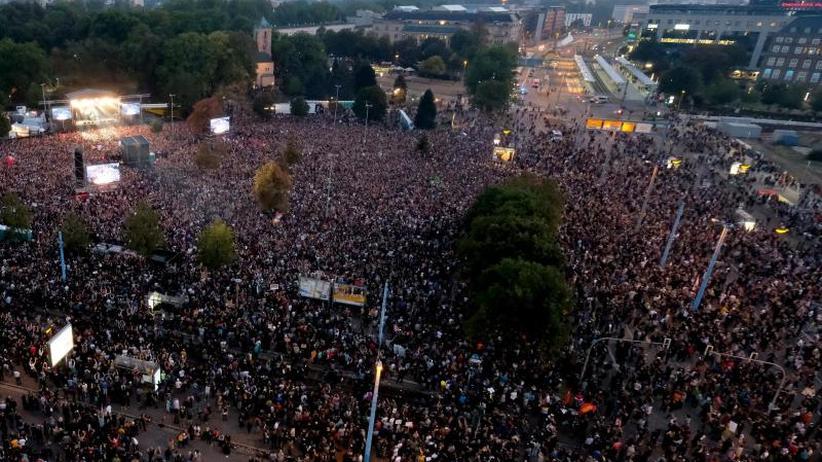 #wirsindmehr: 65.000 bei Konzert gegen Rechts