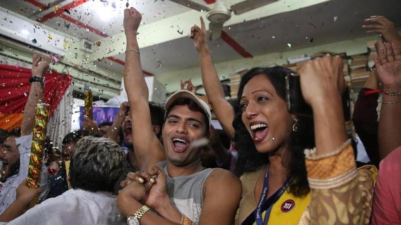 Gesetz aus Kolonialzeit: Sex von Homosexuellen in Indien nicht mehr strafbar