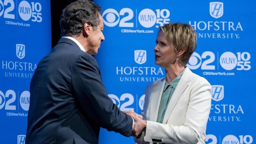 Schauspieler als Politiker: Cynthia Nixon will New York regieren
