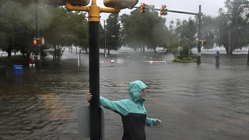 """US-Ostküste: Hurrikan """"Florence"""" bringt erste Überschwemmungen"""