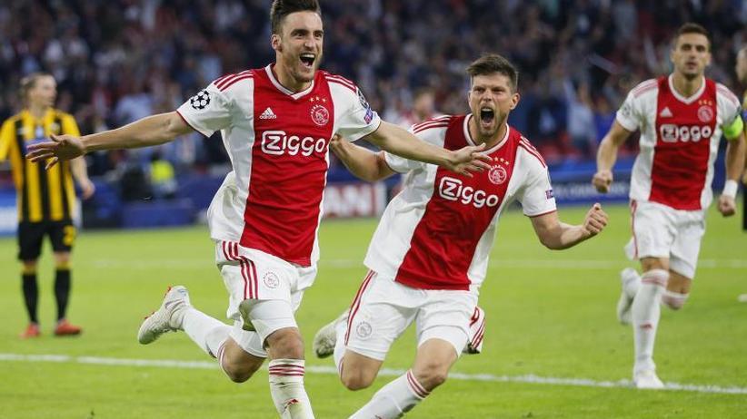 Champions League: Gruppe der Bayern: Ajax schlägt Athen 3:0