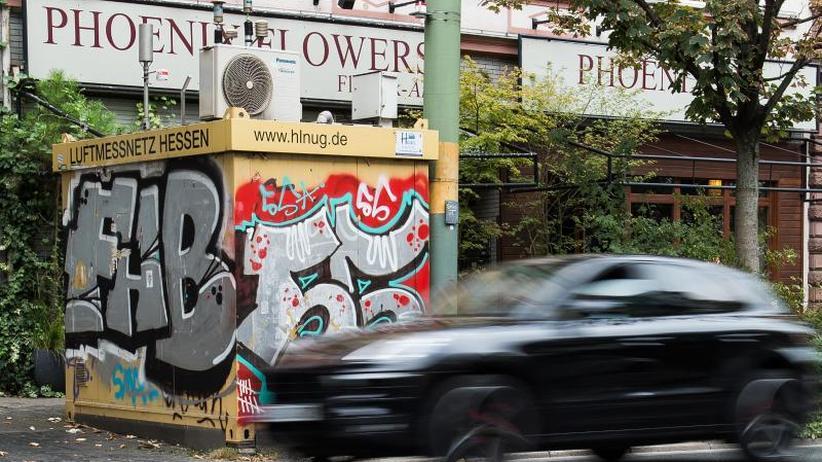 Kritik der Umwelthilfe: Hessen plant Rechtsmittel gegen Urteil zu Diesel-Fahrverbot
