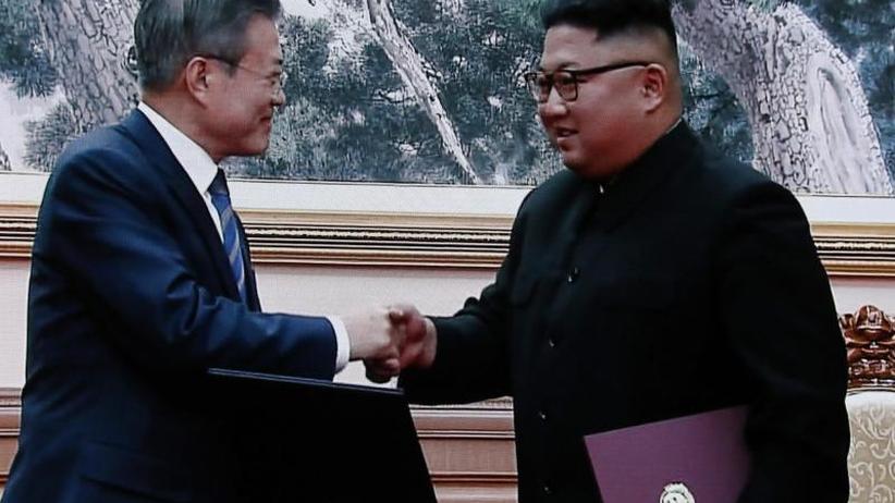 Nach Gipfel mit Südkorea: Kim Jong Un kündigt konkrete Abrüstungsschritte an