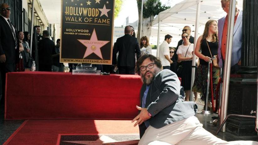 Zeremonie: Komiker Jack Black enthüllt Hollywood-Stern