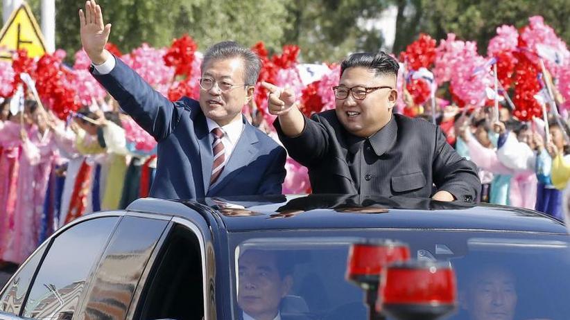 Annäherung: Süd- und Nordkorea setzen Gipfeltreffen fort