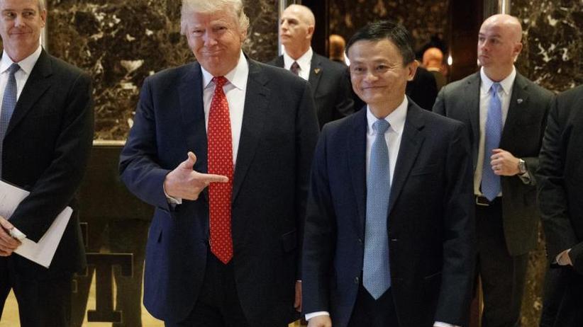 Handelsstreit USA-China: Alibaba-Chef Ma nimmt Job-Versprechen an Trump zurück