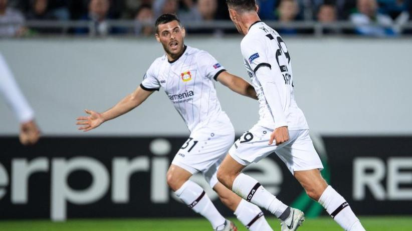 Europa League: Havertz stoppt Bayer-Krise - zwei Tore beim 3:2 in Rasgrad