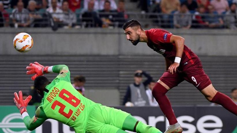 Europa League: Leipzig im ersten RB-Duell vorgeführt: 2:3 gegen Salzburg
