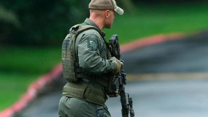 Verdächtiger festgenommen: Mehrere Tote nach Schüssen im US-Bundesstaat Maryland