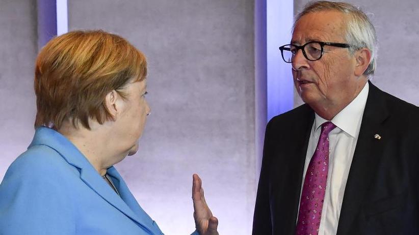 EU-Gipfel in Salzburg: Merkel: Flüchtlingsabkommen mit Nordafrika wie mit Türkei