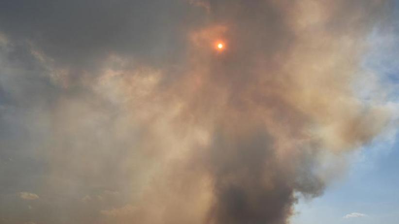 Raketentests lösten Feuer aus: Moorbrand ist ein Fall für die Justiz - Kritik an Bundeswehr