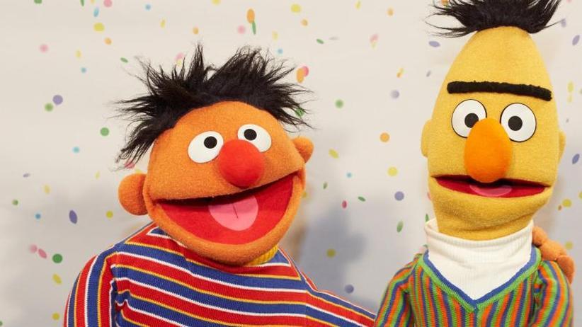 """Alte Diskussion: Outing in der """"Sesamstraße"""": Sind Ernie und Bert schwul?"""