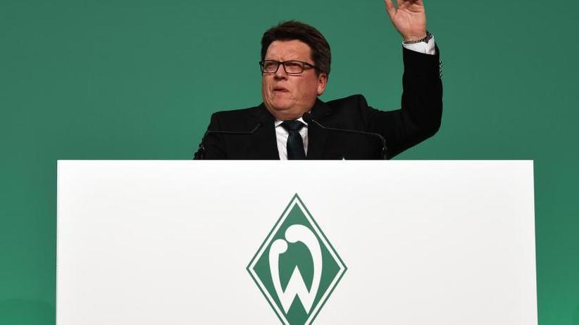 Klare Worte: Vorbild Fischer: Auch Werder-Geschäftsführer attackiert AfD