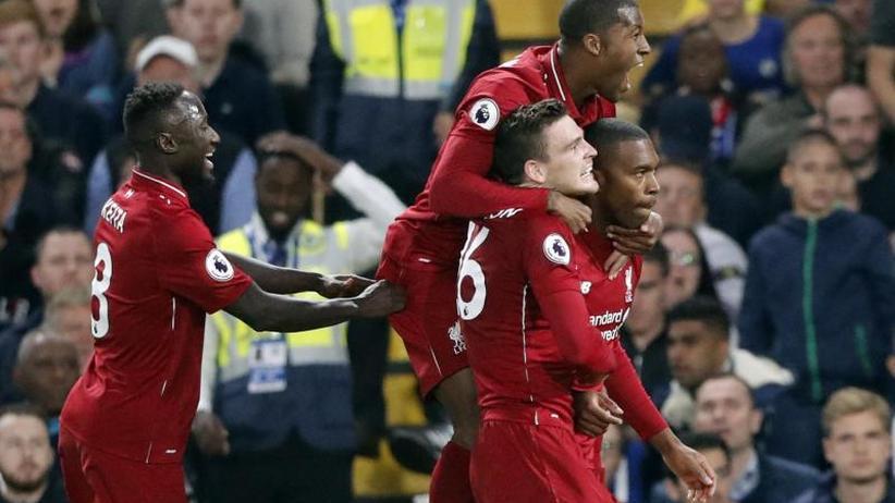 Premier League: Sturridge rettet Liverpool:Klopp-Team 1:1 beim FC Chelsea