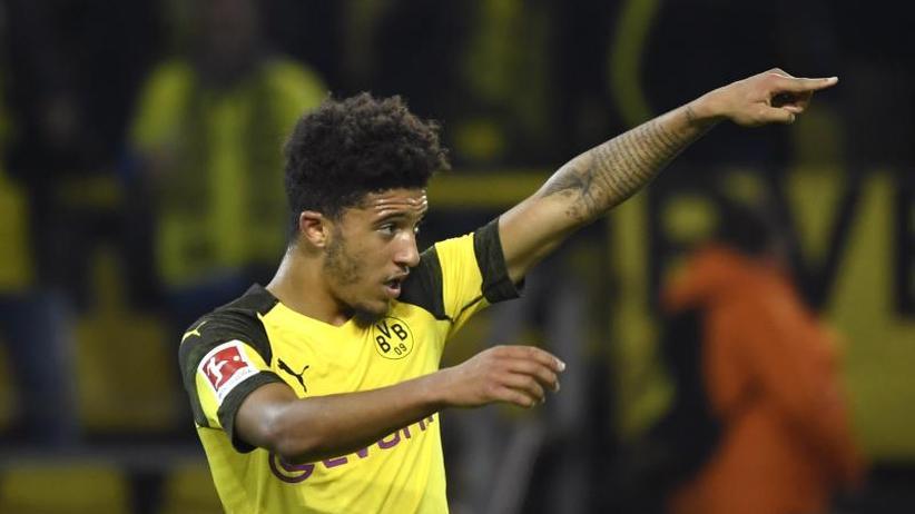 BVB-Stürmer: Dortmunds Super-Joker Sancho:Besser als Ronaldo und Messi