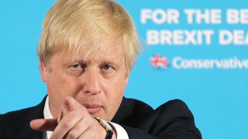 Machtkampf mit May: Gegenwind für Boris Johnson beim Parteitag der Konservativen