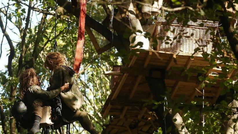 Razzia in Protestcamp: Immer mehr neue Baumhäuser im Hambacher Forst
