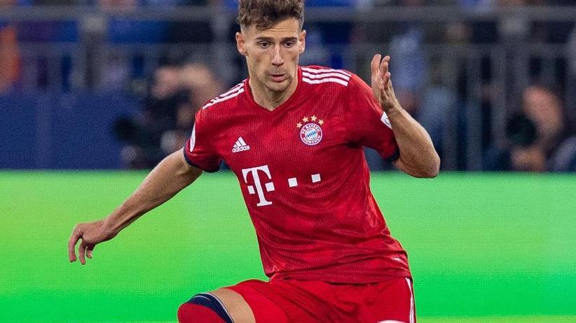 Champions League: Nationalspieler Goretzka vor Ajax-Spiel im Bayern-Training